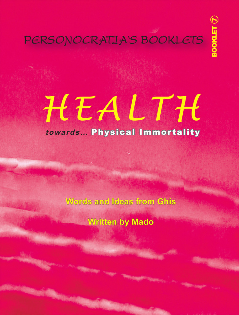 Booklet Health- Cover