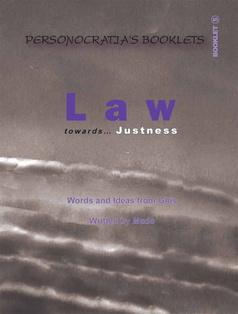 Booklet Law- Cover